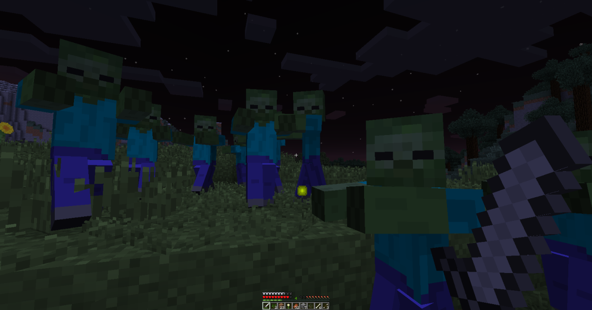 It is possible to defeat a zombie horde with only melee weapons, but players will need to keep a good eye on their surroundings or else risk being attacked from behind.