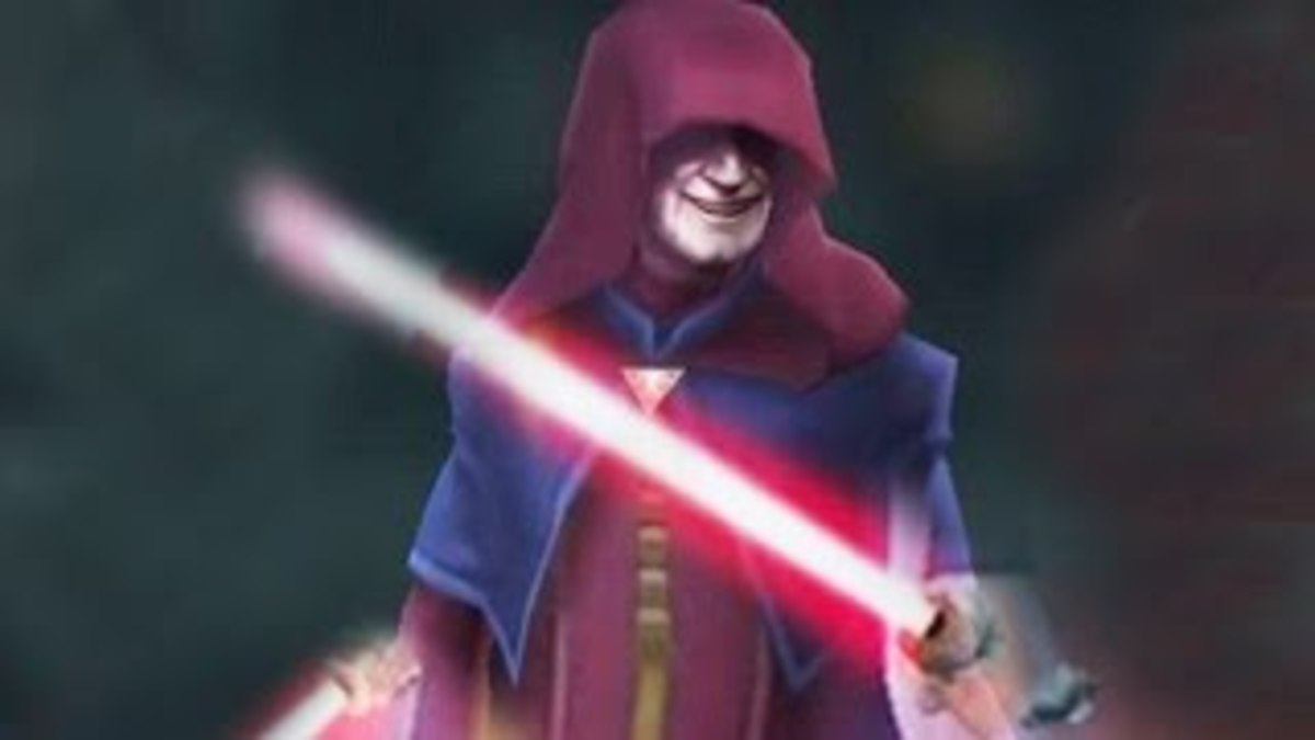 Darth Sidious, whose basic attack can inflict Healing Immunity.