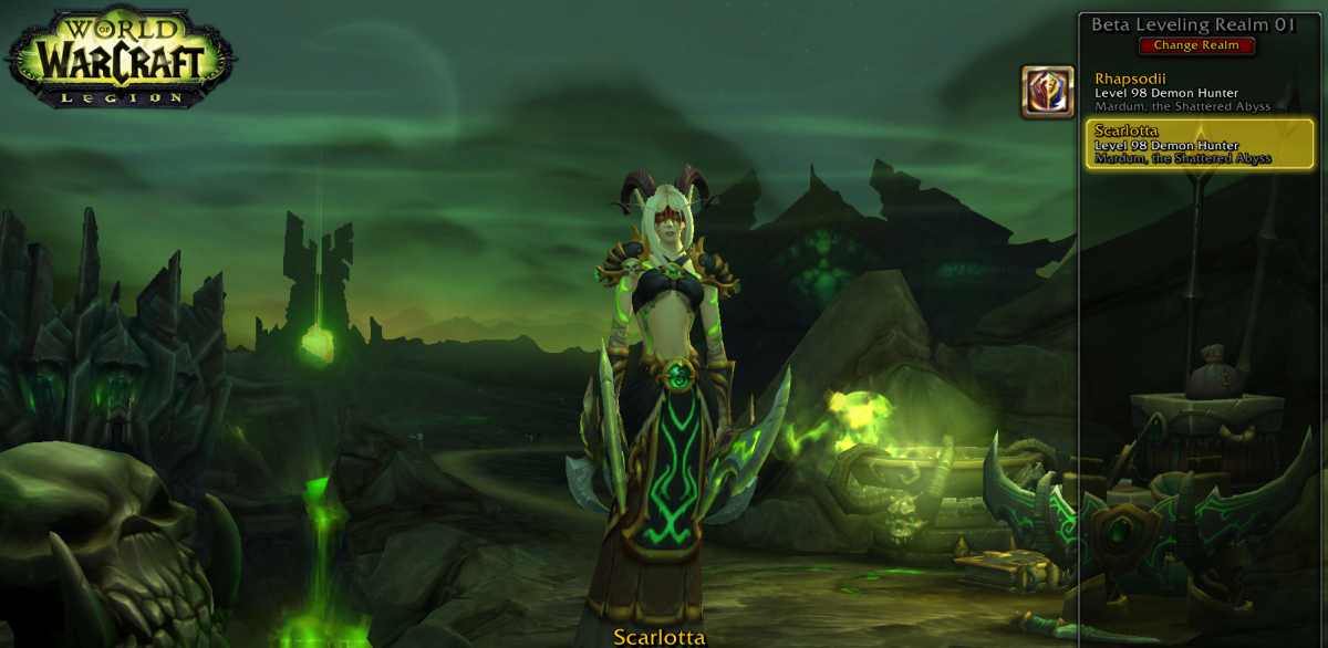 Horde Blood Elf