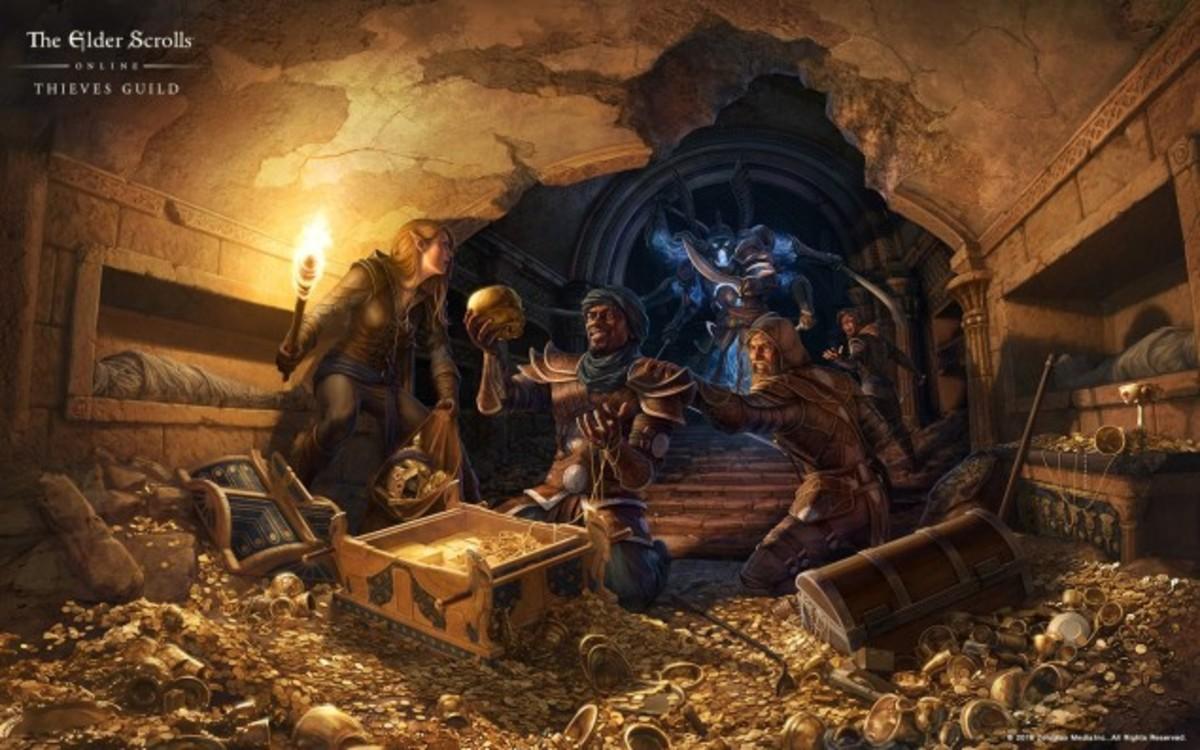 Break the Law in Elder Scrolls Online's Thieves Guild DLC