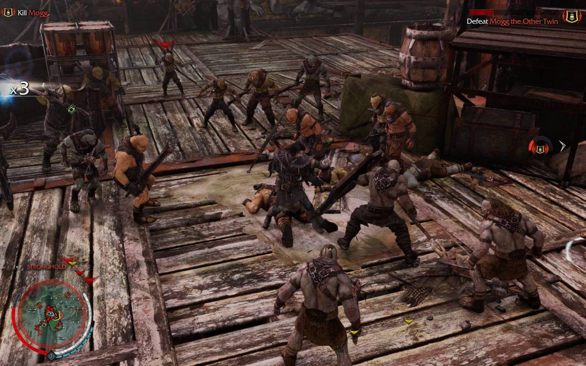 Skyrim Shadow of Mordor Battle Scene