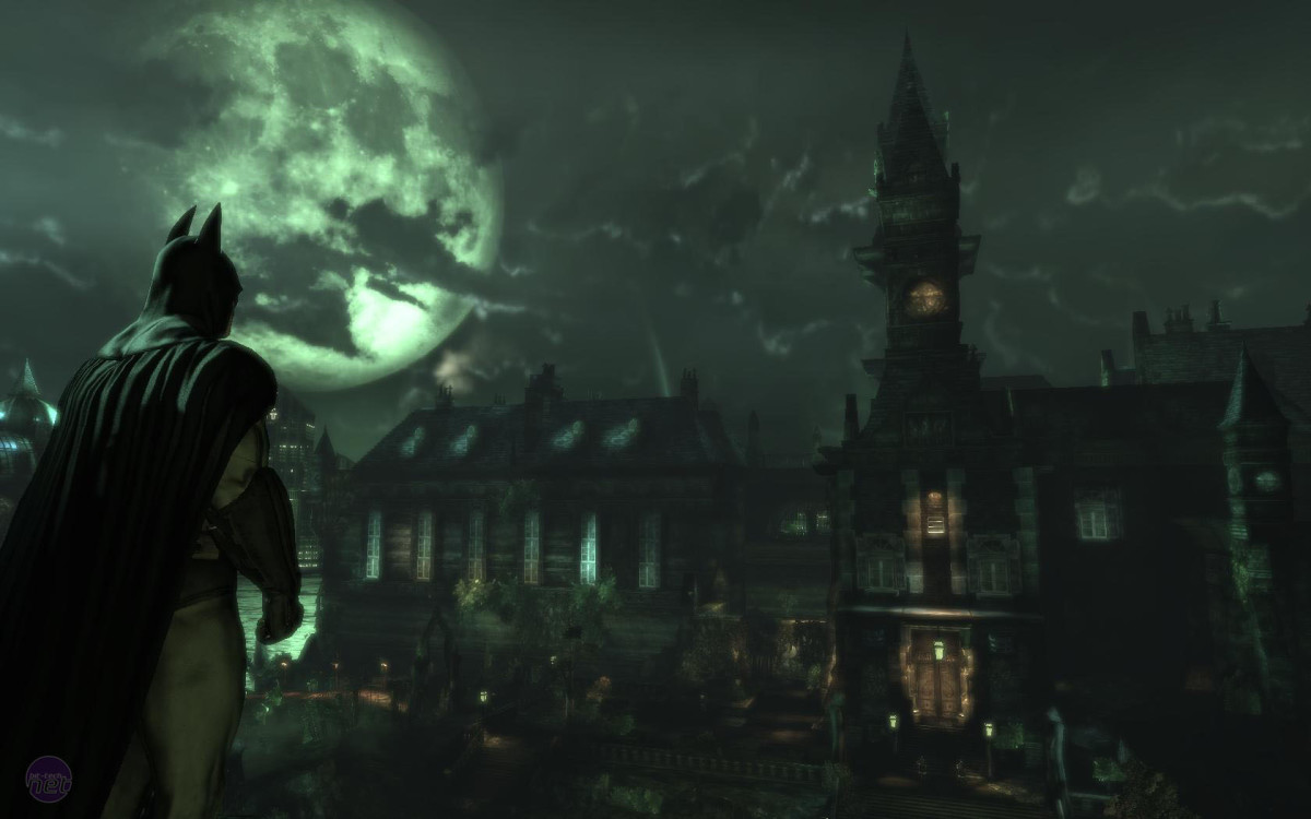 This is Arkham Asylum, you'll behere all night!