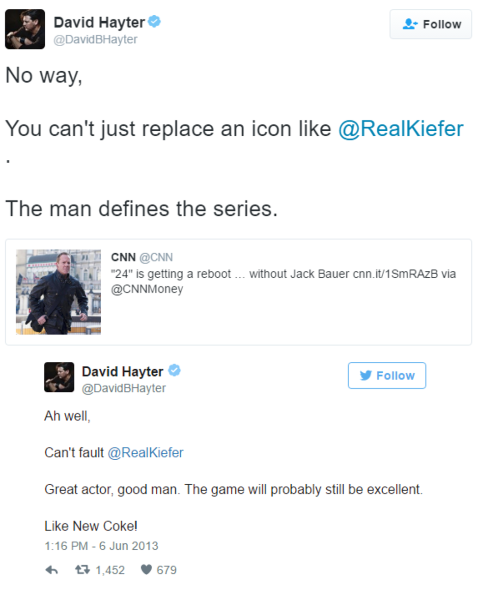 Original voice of Snake, David Hayter, Tweets about his replacement in the Metal Gear series