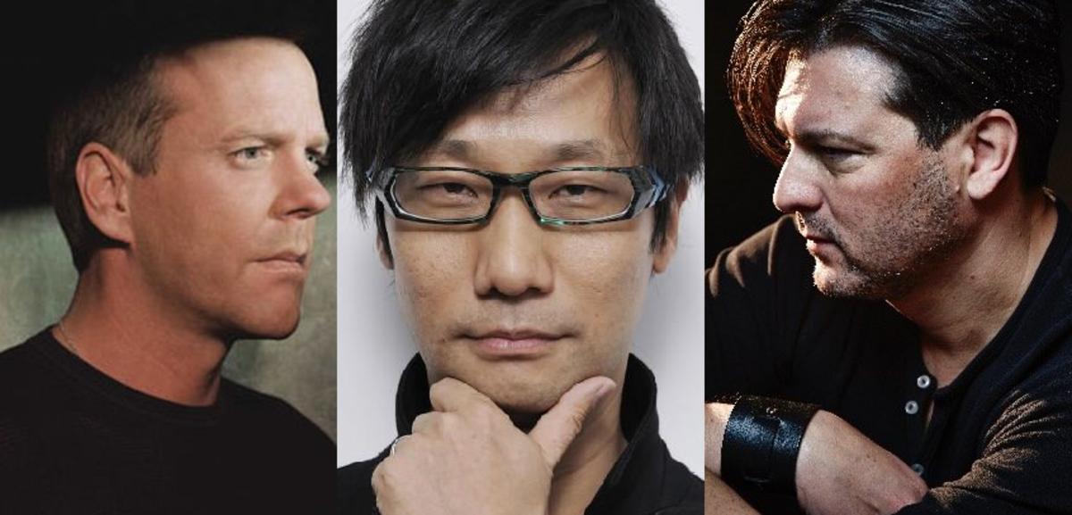 The tangled, conspiratorial web of Kiefer Sutherland, Hideo Kojima, and David Hayter.