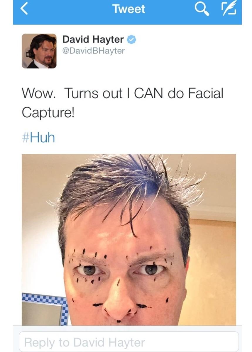 Hayter's gonna hate.