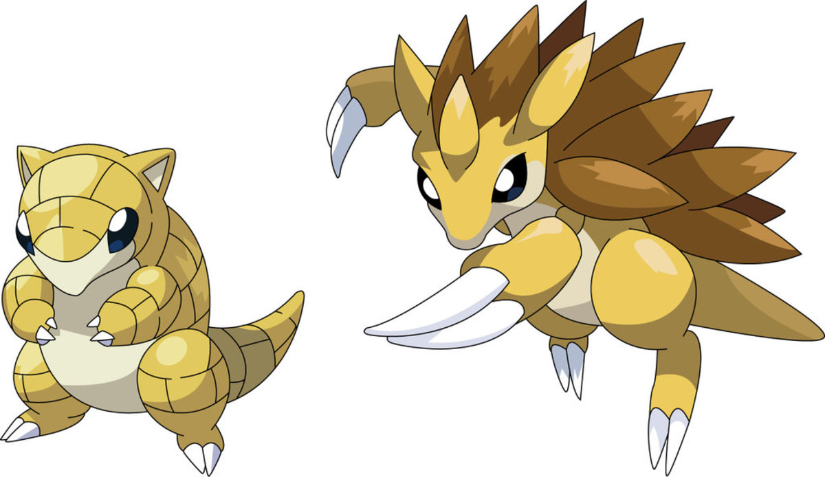 Sandshrew and Sandslash