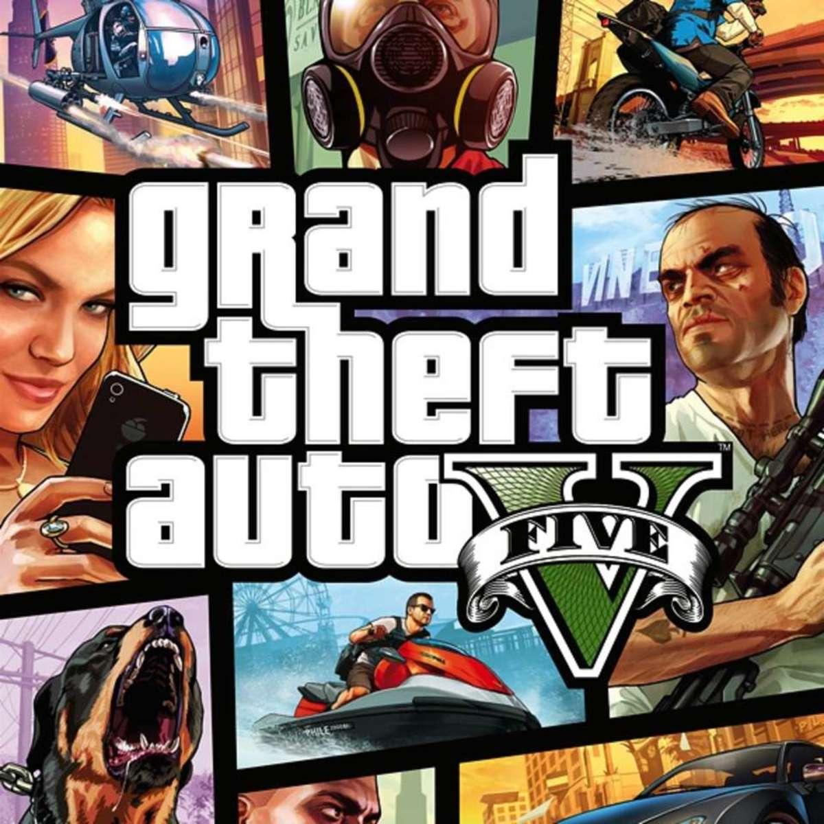"""Grand Theft Auto Five"""