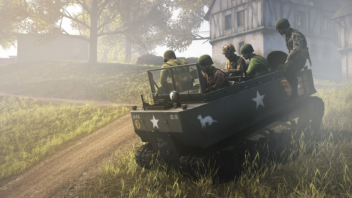 Heroes & Generals Tips; Use Transport Vehicles