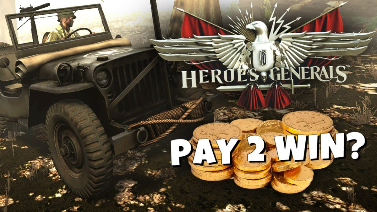Is Heroes & Generals Pay to Win?