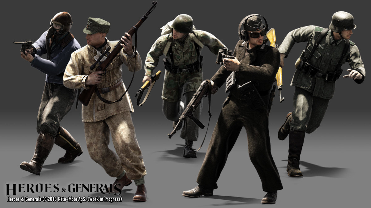 Heroes and Generals Classes