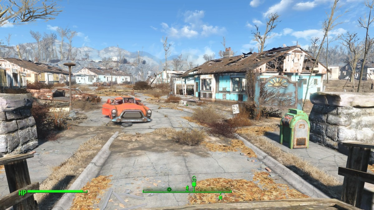 "Fallout 4 gives a whole new meaning to, ""Cleaning up the Wasteland""."