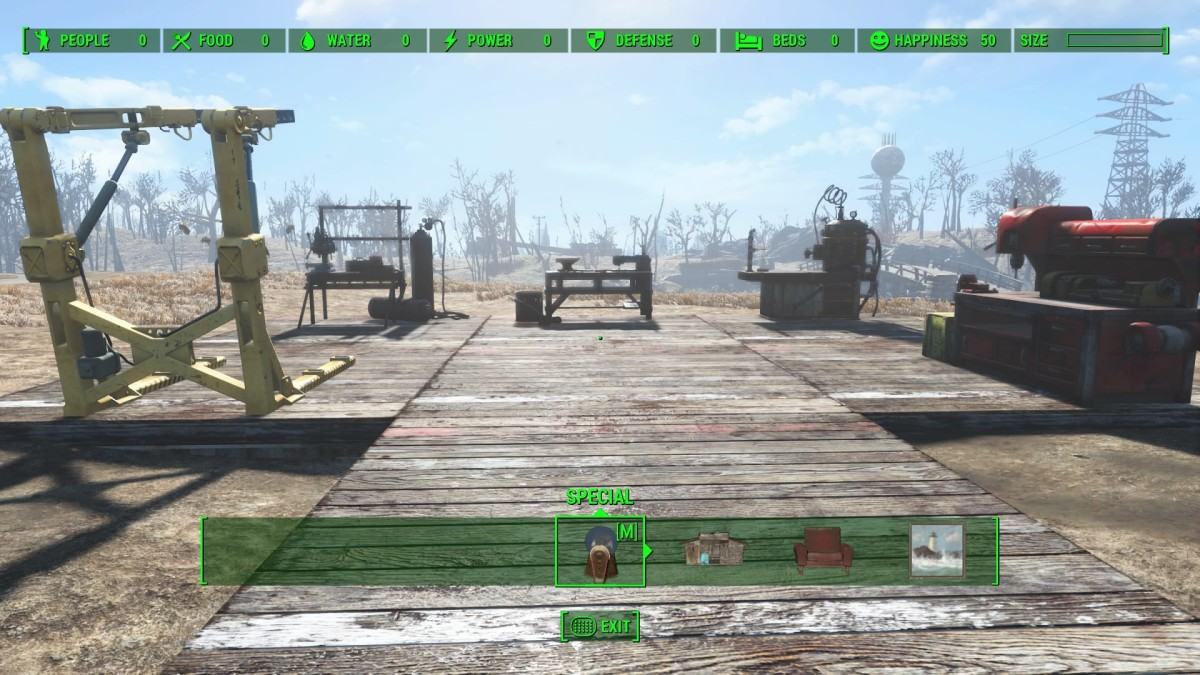 (Go here and activate the workbench BEFORE talking to Codsworth.)