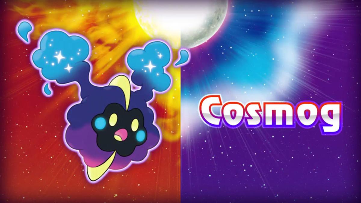 The Legendary Psychic Nebula Pokémon. Cosmog.