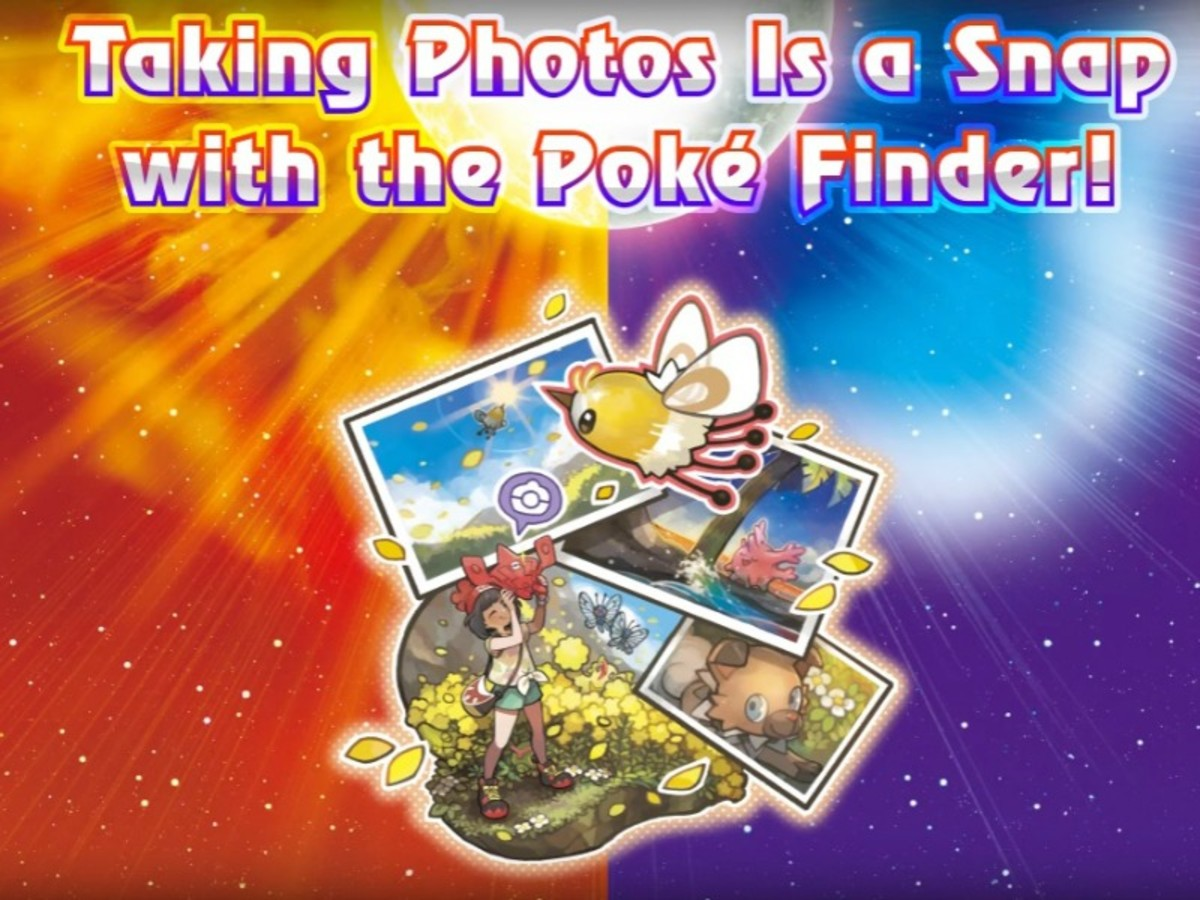 Photo Shoot with the Poke Finder