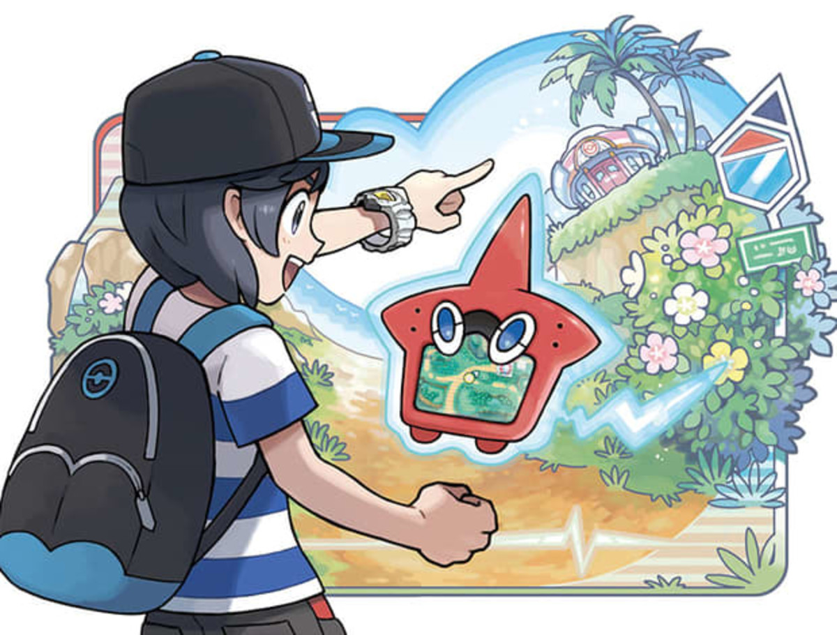 Completing the Alola Pokedex (Rotom Dex)