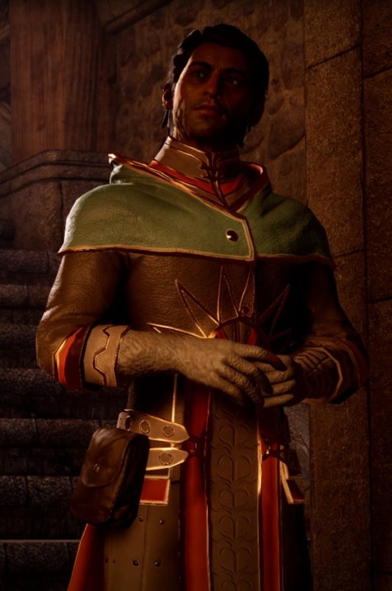 Dorian's father, Halward Pavus