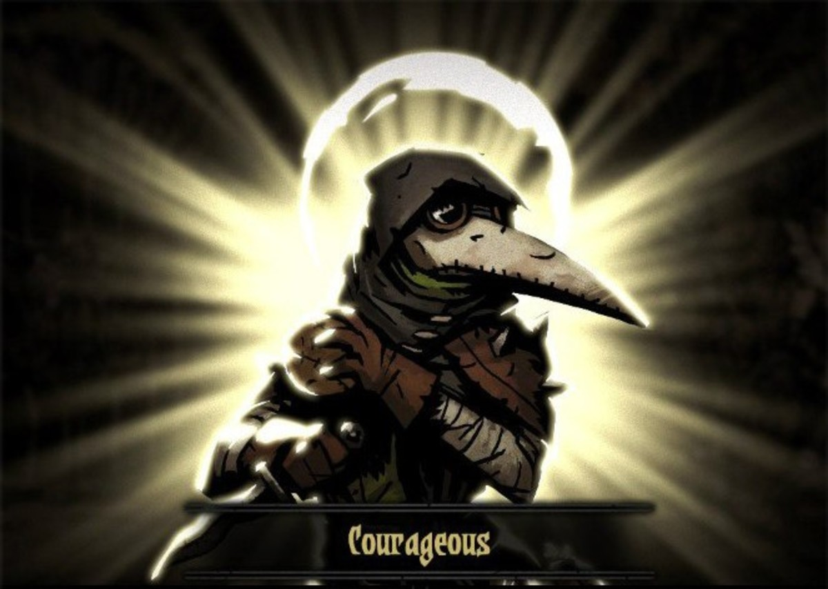 [Plague Doctor: Plague Grenade, Blinding Gas, Battlefield Medicine, and Emboldening Vapours]