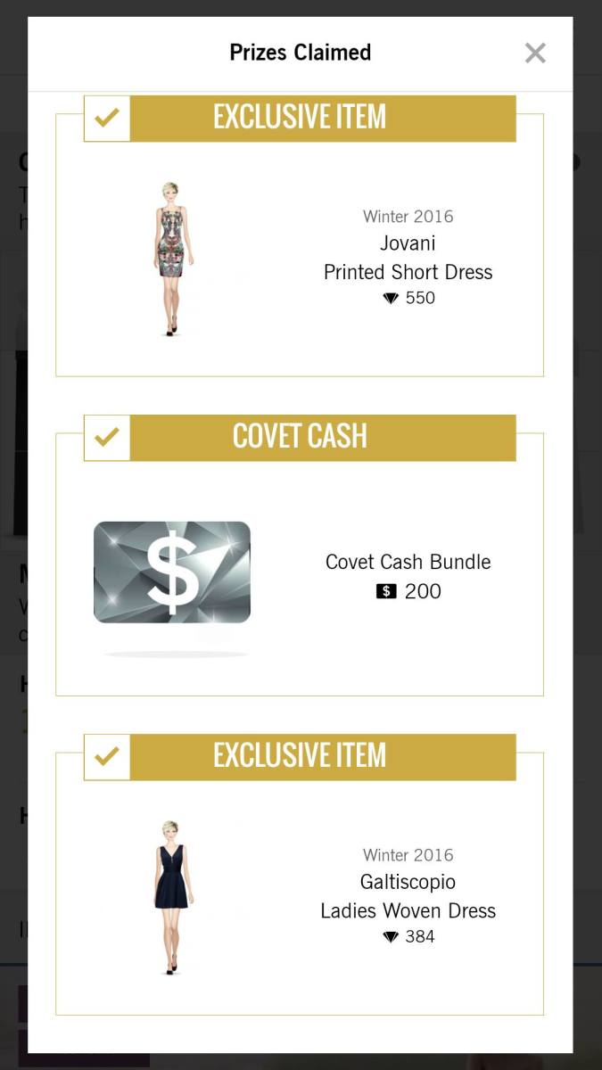 Covet Fashion Joining A Fashion House