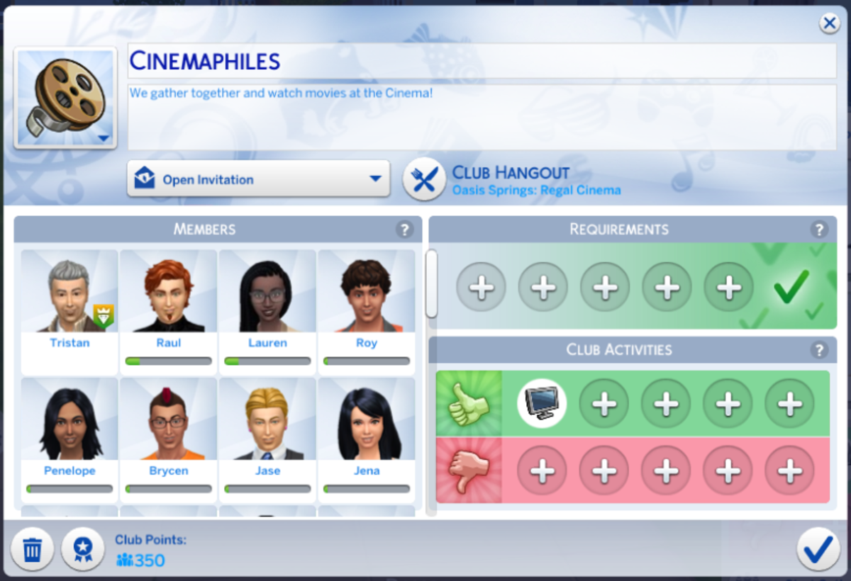 Make a theatre club and have them meet at a cinema for a more realistic experience!