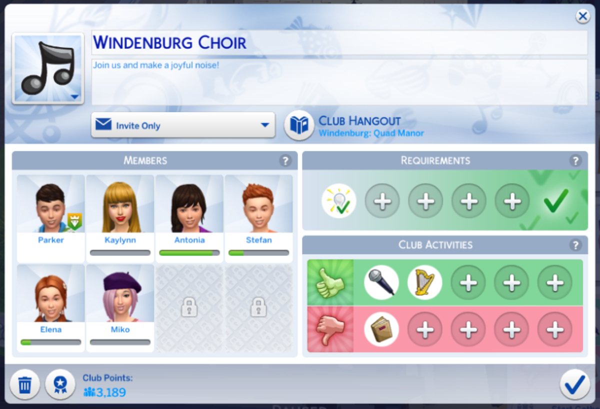 Make a choir club- get together and practice your singing skill!