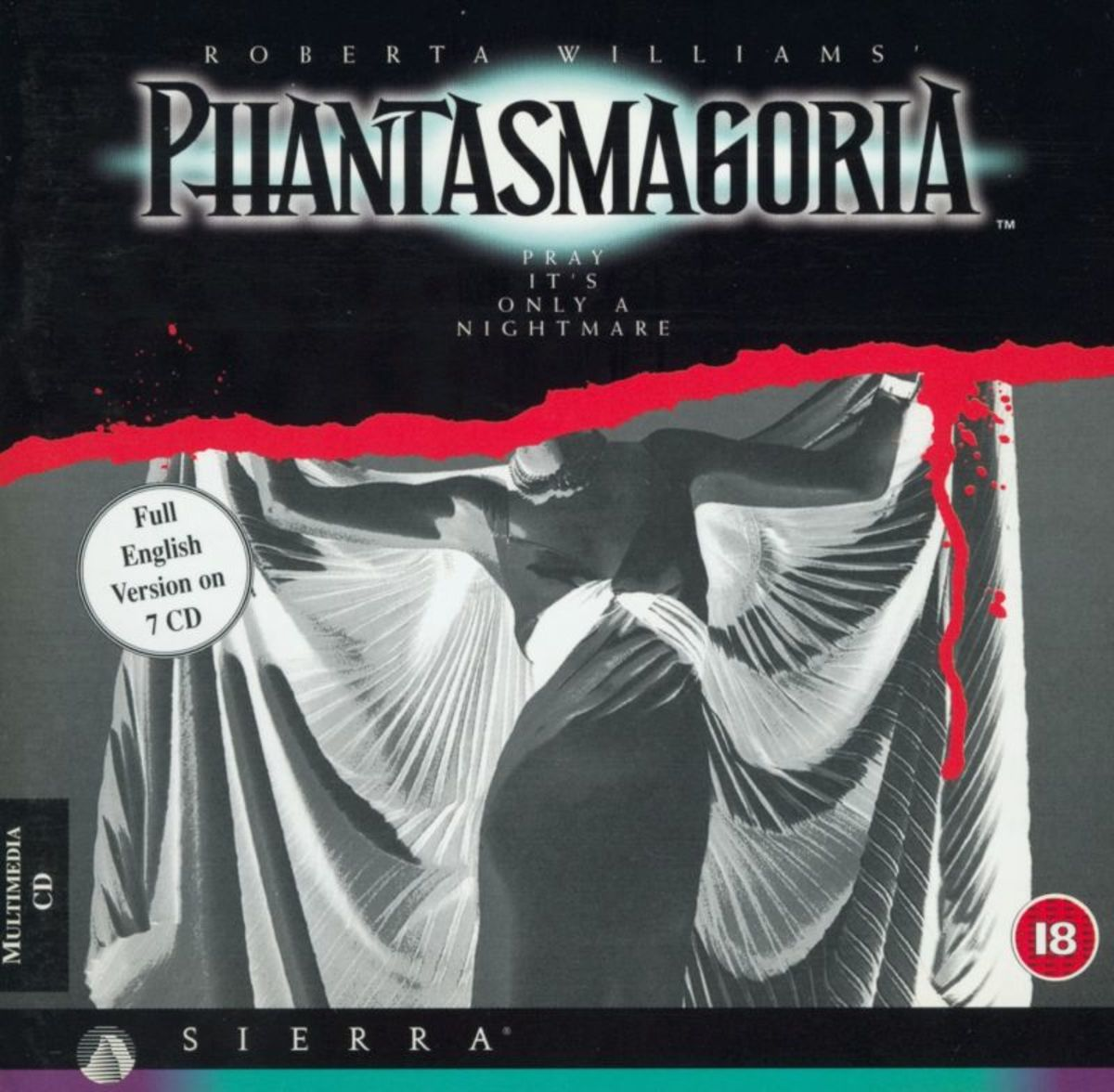 Phantasmagoria jewel case cover.