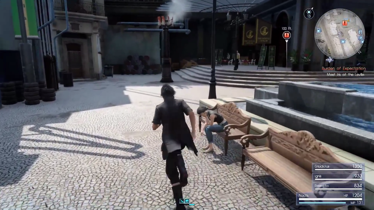 """Lestallum, a relatively large town in """"Final Fantasy XV."""""""