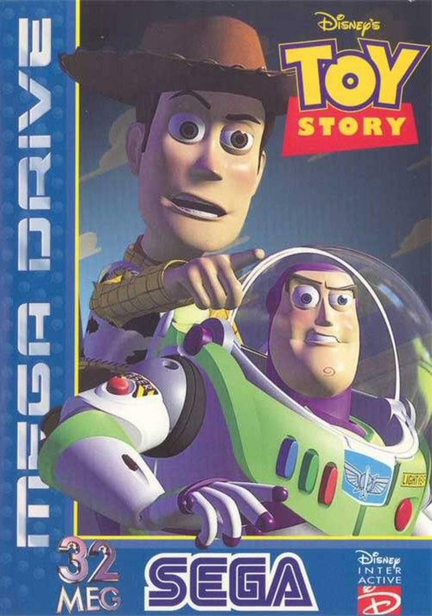 Sega Megadrive: Toy Story