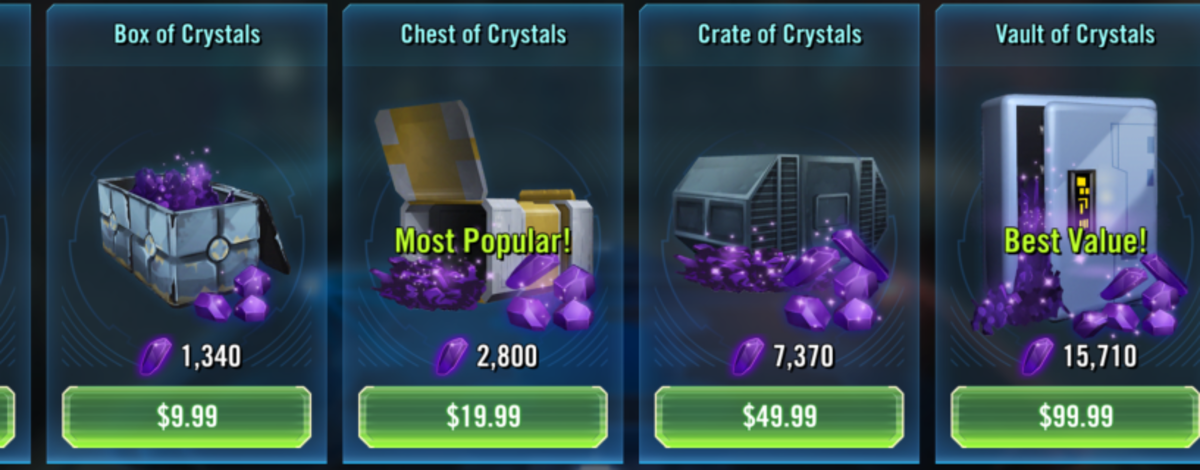 Crystals - so expensive!!