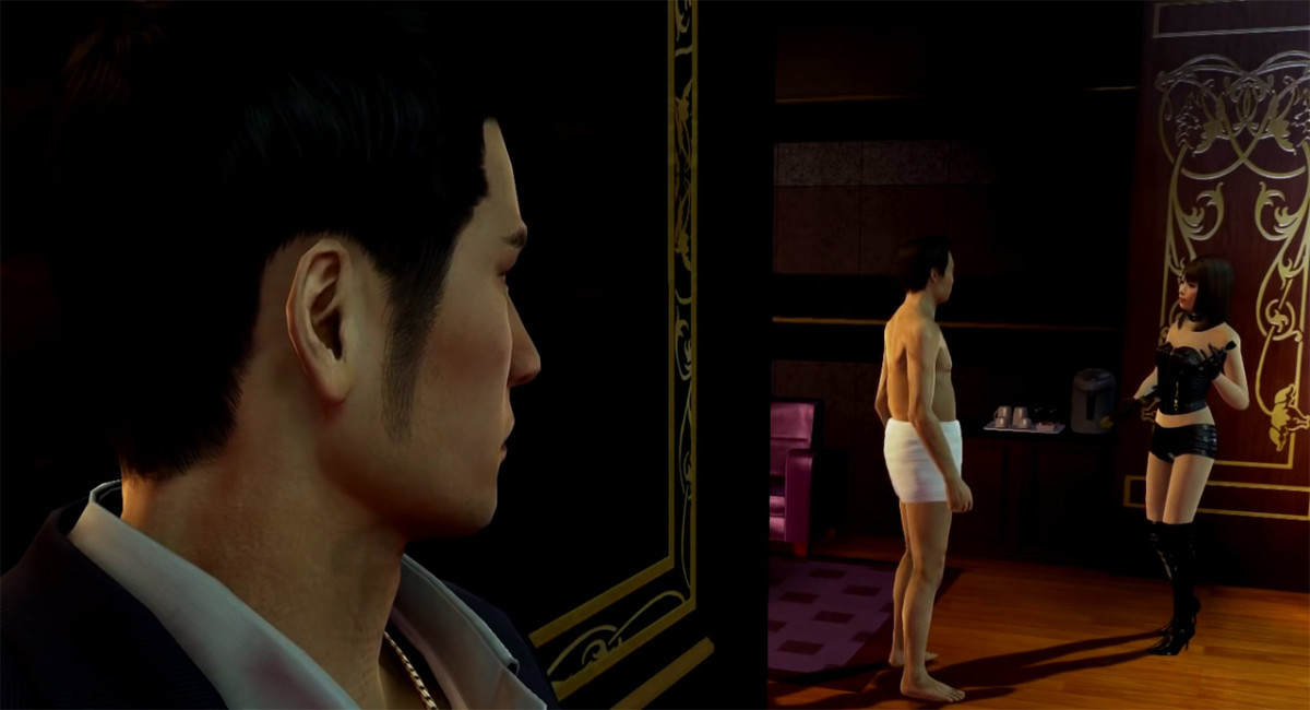 It's not what it looks like. This Yakuza 0 substory is more humour than sleaze.