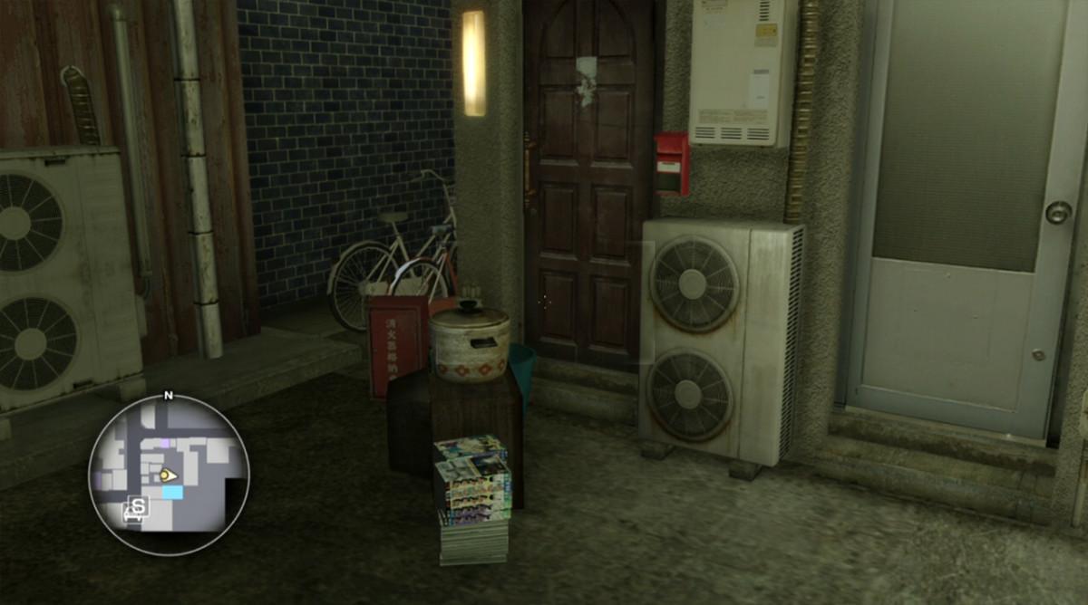 What chilling secret hides in this desolate corner in Sotenbori?