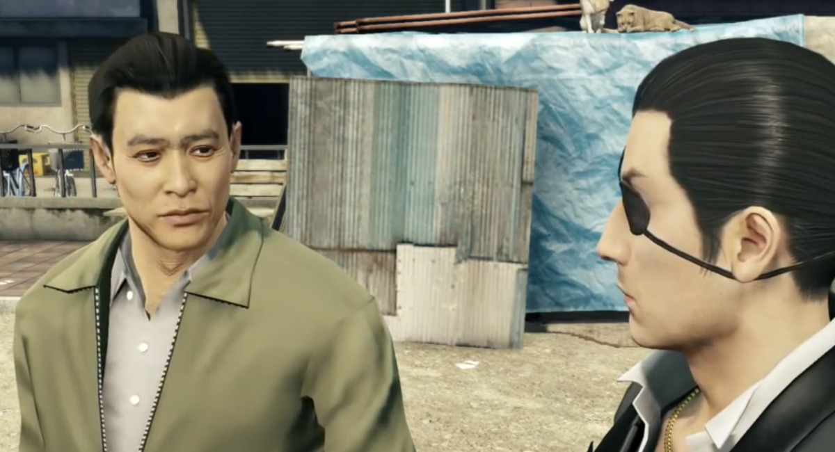 The Man with the Stranger's Face is one of the most touching Yakuza 0 substories.