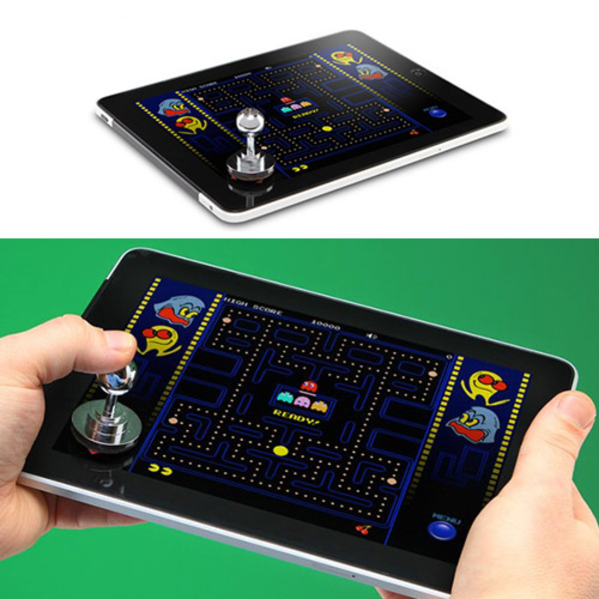 """Using the Joystick-It to play """"Pacman."""""""