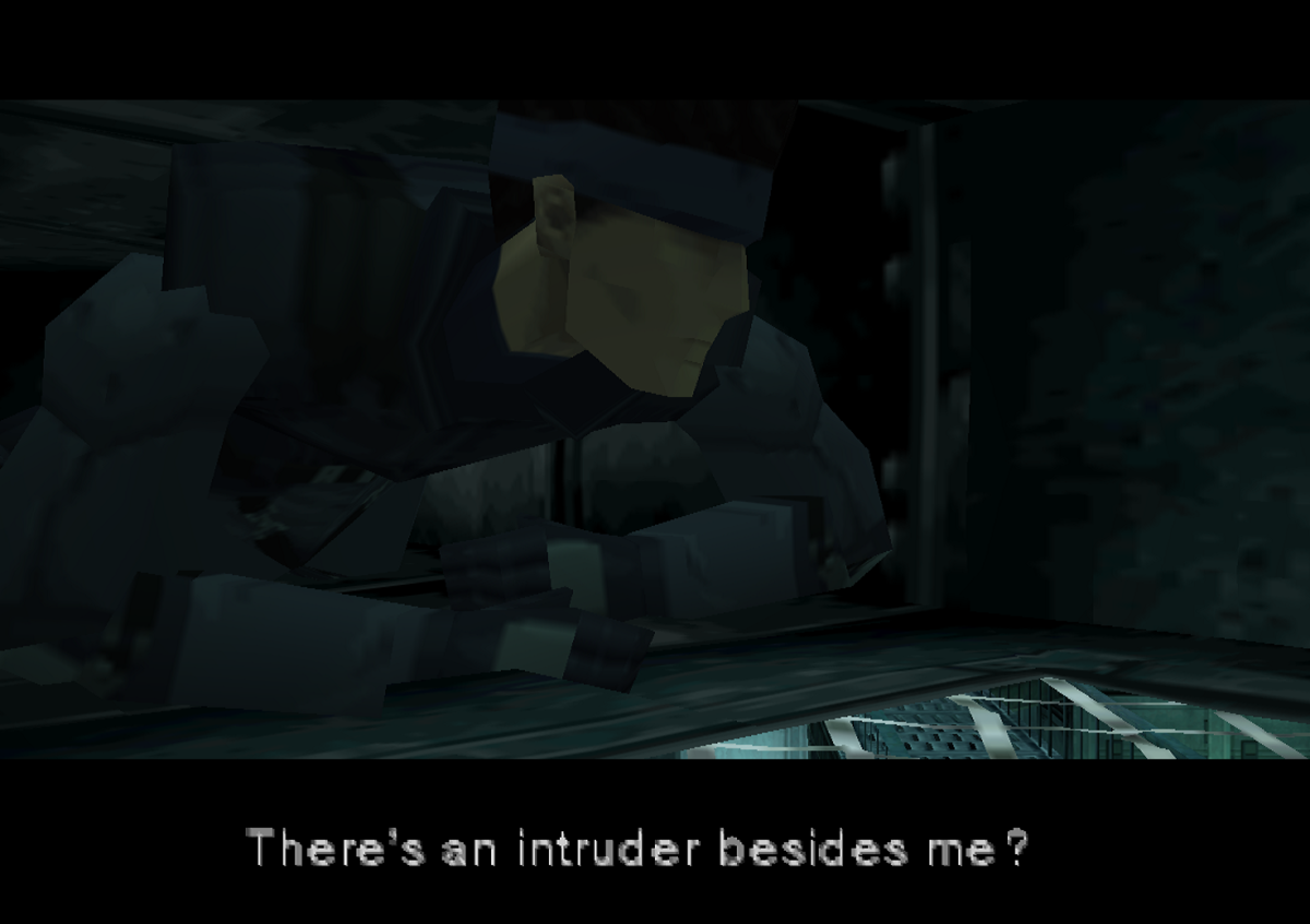 There's an intruder besides me?