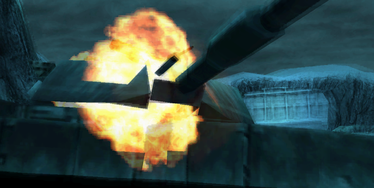 Destroying an M1 Abrams with hand grenades