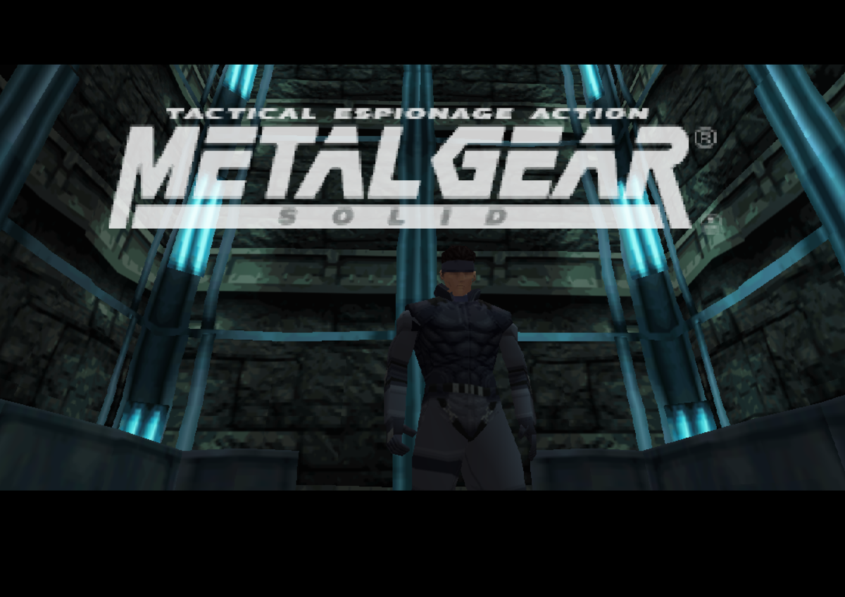 """Metal Gear Solid"": Released for the Sony PlayStation"