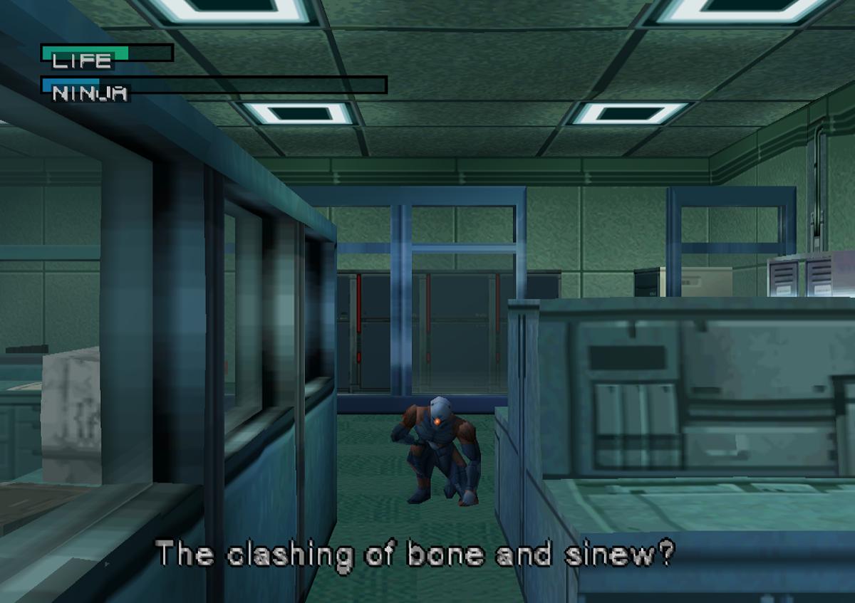 The clashing of bone and senew