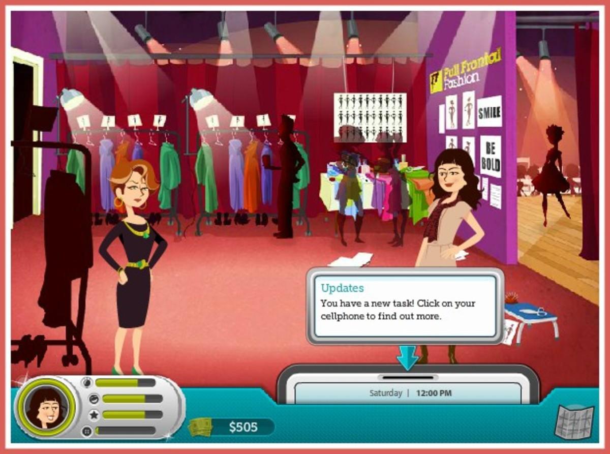 "Screenshot from ""Catwalk Countdown."""