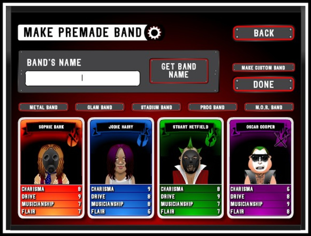 "Screenshot from ""Rock Band Sim."""