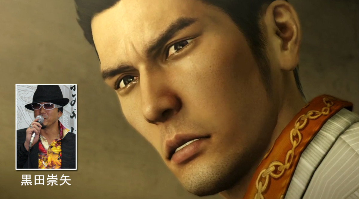 Takaya Kuroda's splendid voice acting contributed much to the popularity of Yakuza protagonist Kiryu Kazuma.