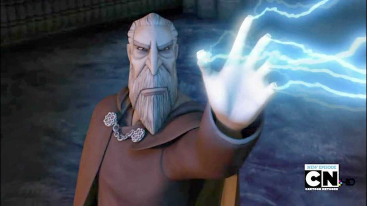 Clone Wars Count Dooku