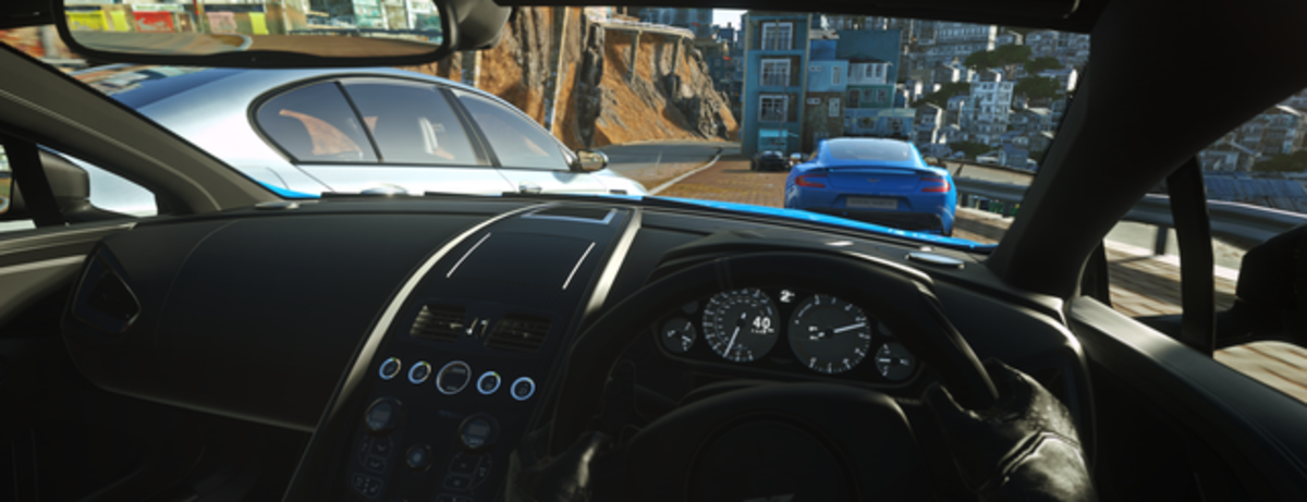 Experience driving without leaving  home in Driveclub VR