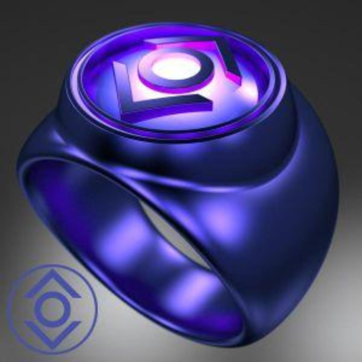The Indigo Lantern Corps Power Ring