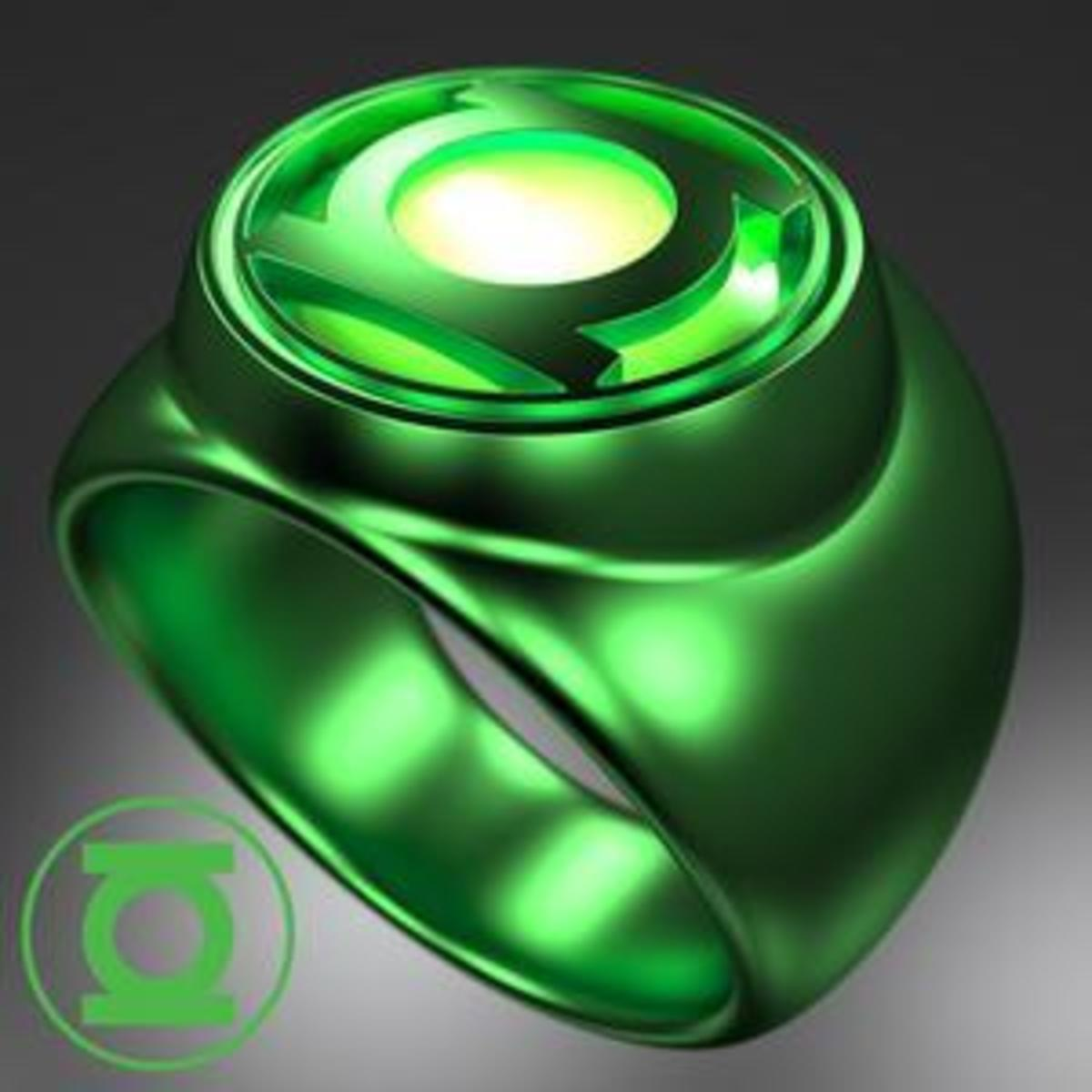 The Green Lantern Power Ring