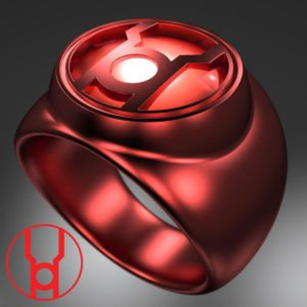 Red Lantern Corps Power Ring