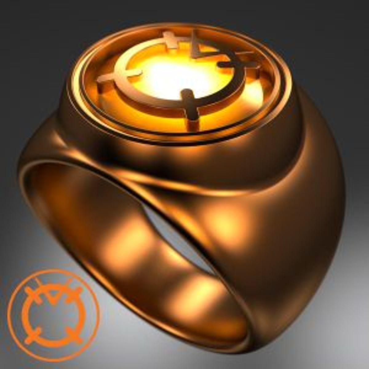 Orange Lantern Corps Power Ring