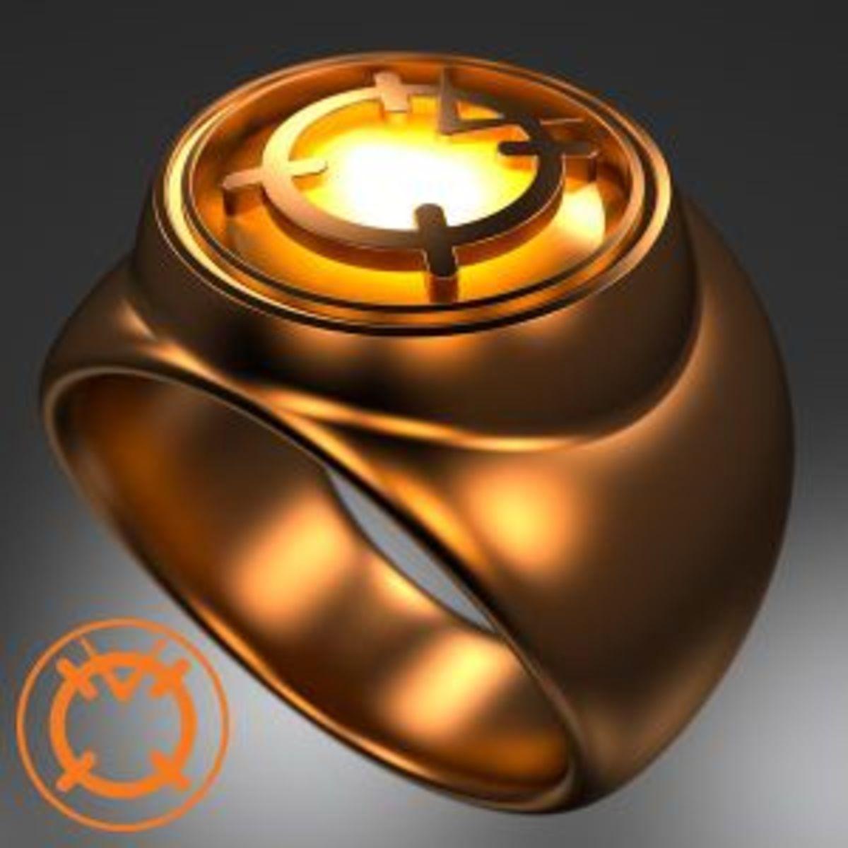 Orange Lantern Corps Power Ring