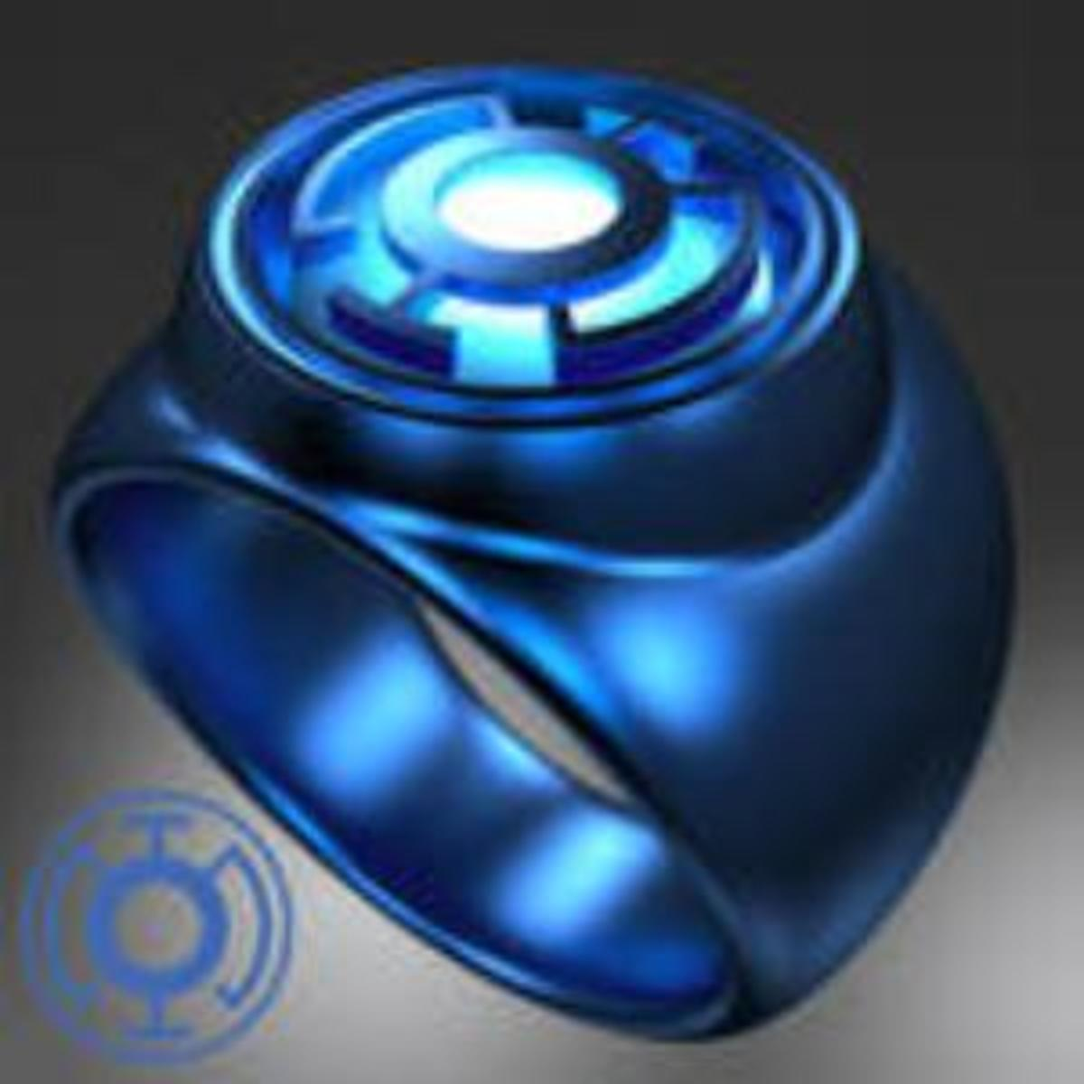 The Blue Lantern Corps Power Ring