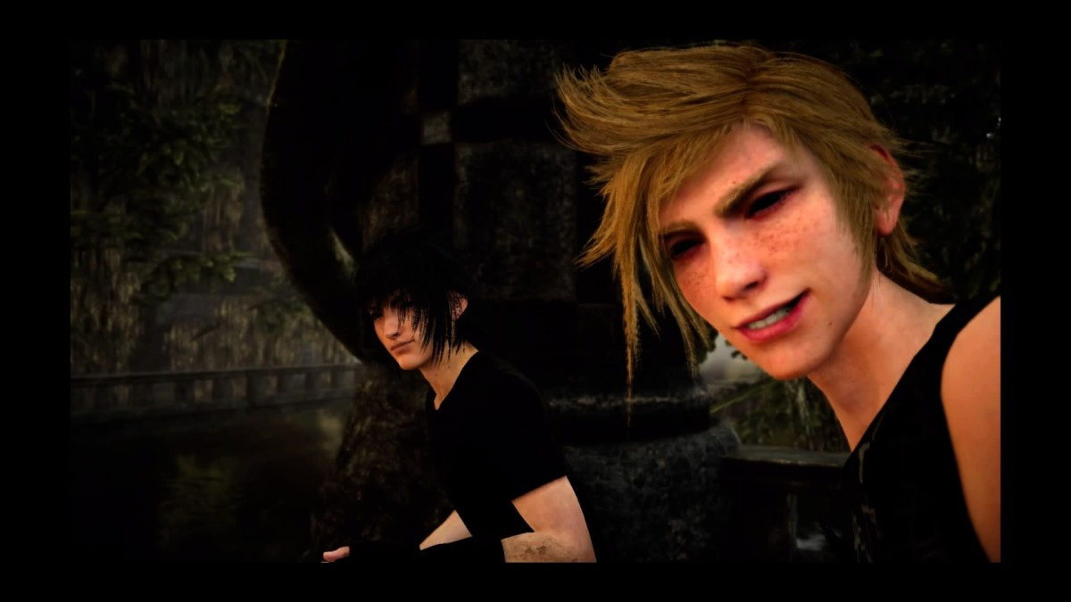 Selfies! From time to time, Prompto will ask Noctis, who would he want to see more pictures of.