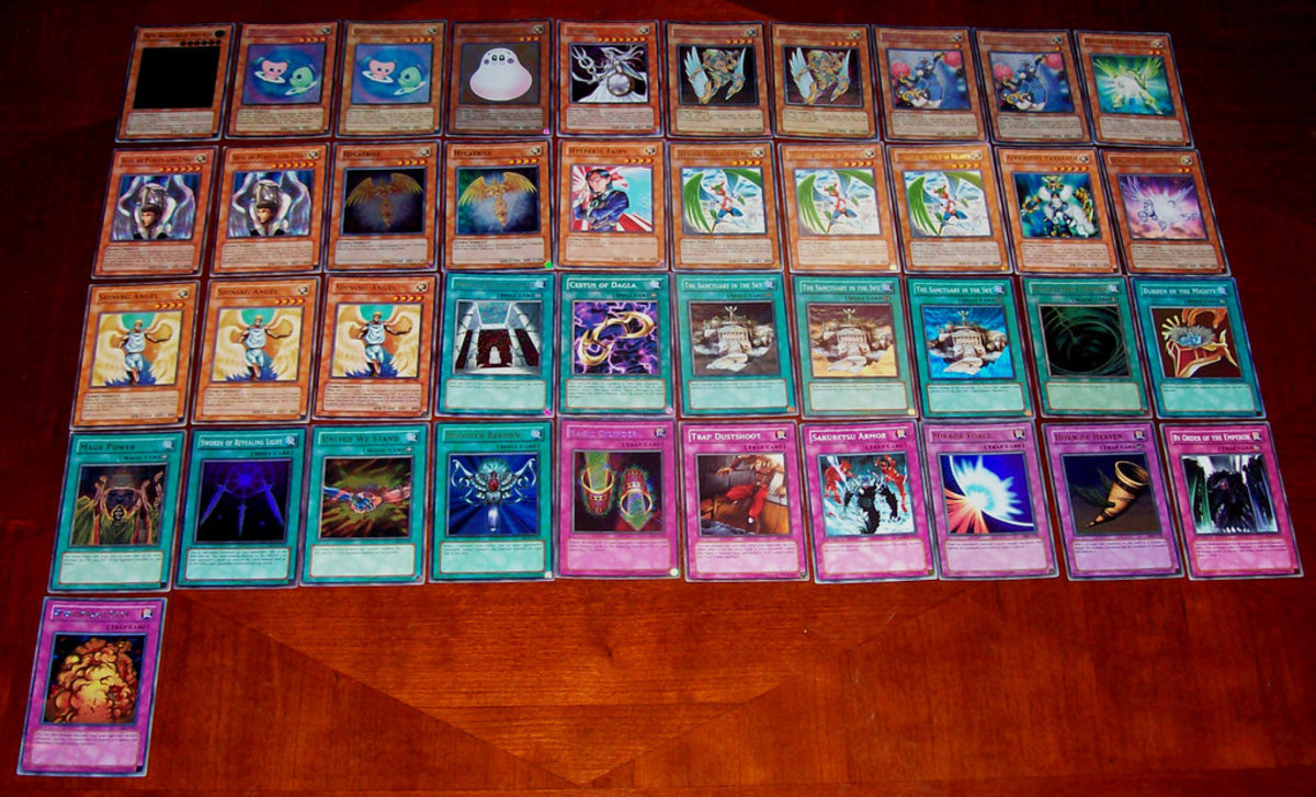 Somebody's deck, which uses some of the Trap Cards I listed here.