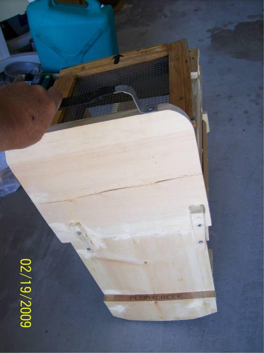 A rocker box I made with scraps